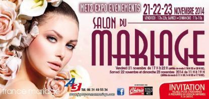 Salon du mariage de Metz – 21 novembre 2014